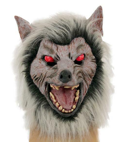Masker Wolf Weerwolf rubber latex Halloween