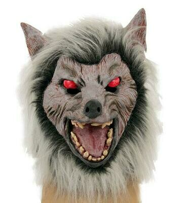 Masker Wolf Weerwolf rubber latex Halloween