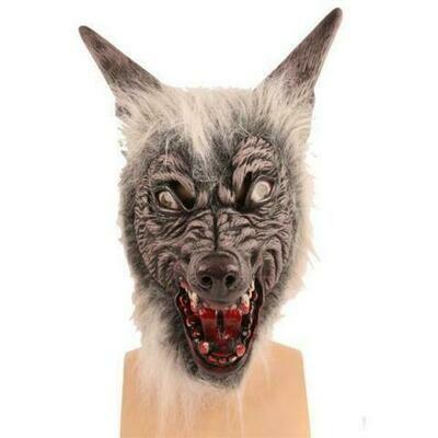 Masker Wolf luxe Weerwolf rubber latex Halloween