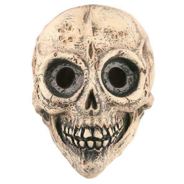 Masker geraamte Aliën skelet doodshoofd rubber latex Halloween