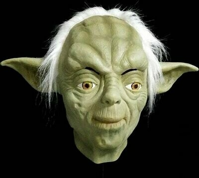 Masker Yoda Star Wars rubber latex Halloween LAATSTE STUK !