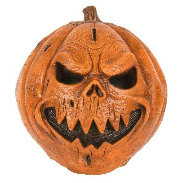 Masker Scary Pumpkin pompoen griezel rubber latex Halloween