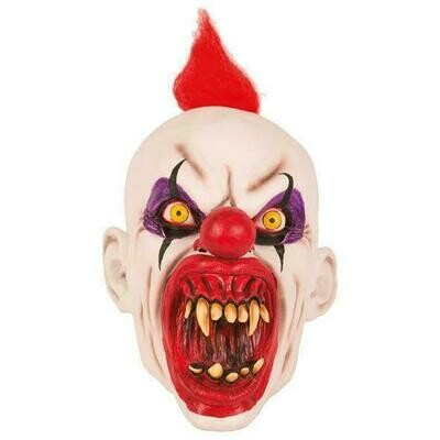 Masker Clown creep scary duivelsclown rubber latex Halloween