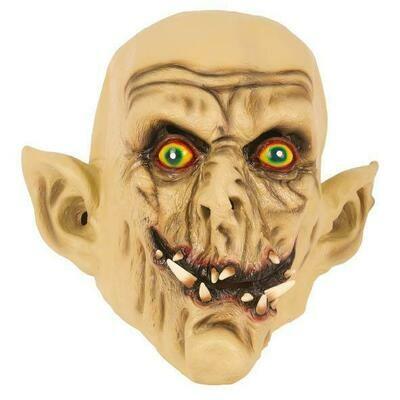 Masker Zombie Ork rubber latex Halloween