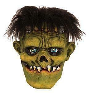 Masker Frankenstein met tanden  rubber latex Halloween