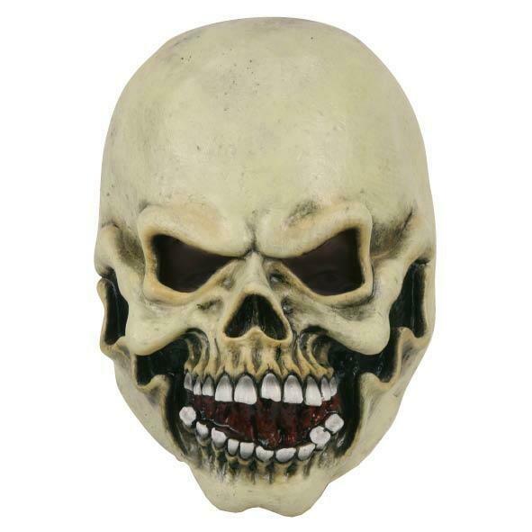 Masker skelet doodshoofd rubber latex Halloween