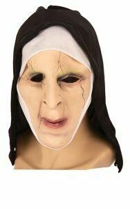 Masker The Nun rubber latex Halloween Non