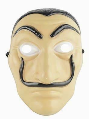 Masker Salvador uit de populaire serie La Casa de Papel