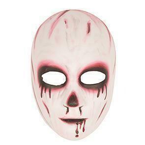 Masker bloed vrouw zombie griezel Halloween hard masker