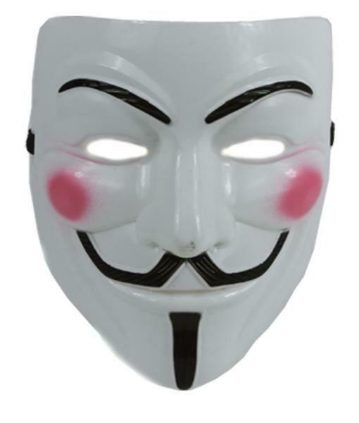 Masker Vendetta Anonymous hard masker