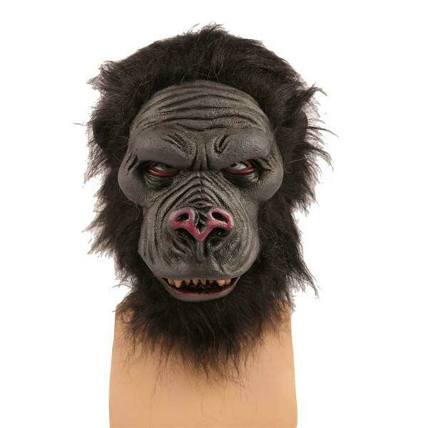 Masker Gorilla aap rubber latex luxe dieren jungle