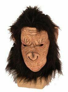 Masker Aap Chimpansee rubber latex apenmasker dieren jungle