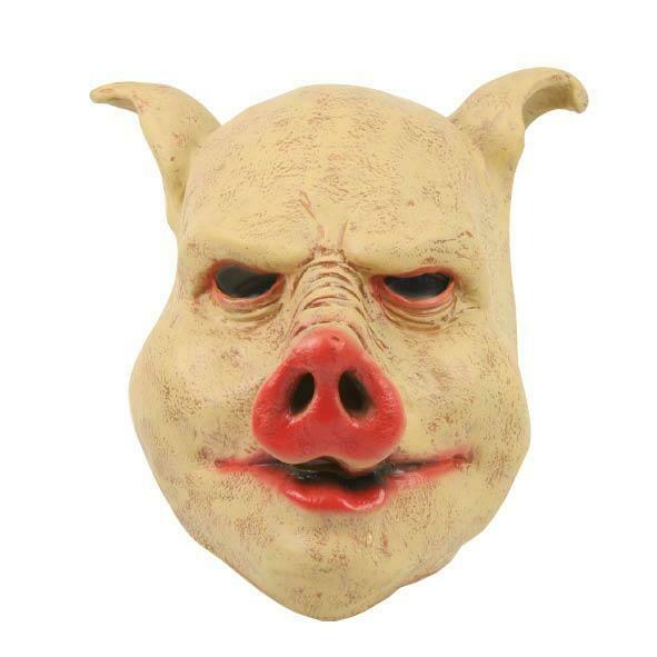 Masker Varken rubber latex dieren Boerderij varkensmasker