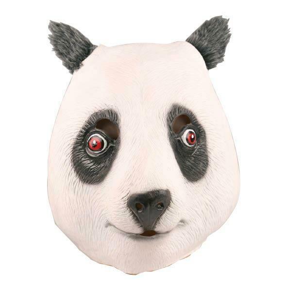 Masker Panda rubber latex dieren