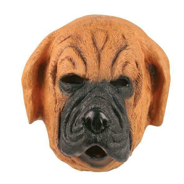 Masker Hond Boxer rubber latex dieren