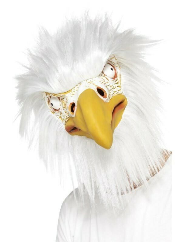 Masker Arend rubber latex dieren vogel