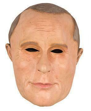 Masker Poetin man blank rubber latex Vladimir Poetin