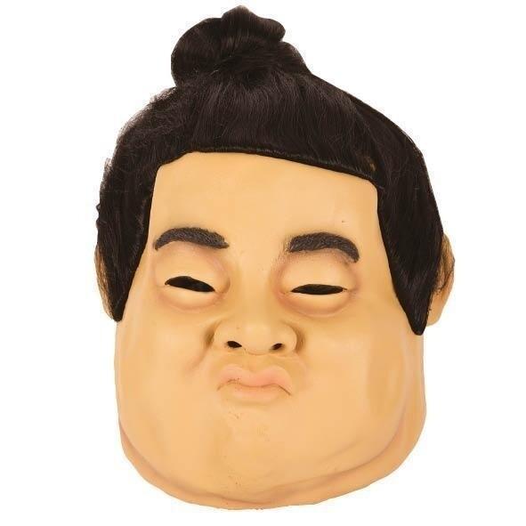 Masker sumo worstelaar rubber latex