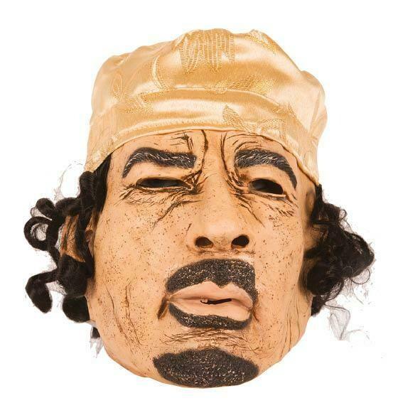 Masker Kadhafi rubber latex
