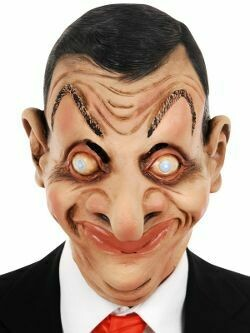 Masker Mr Bean rubber latex Mister Bean