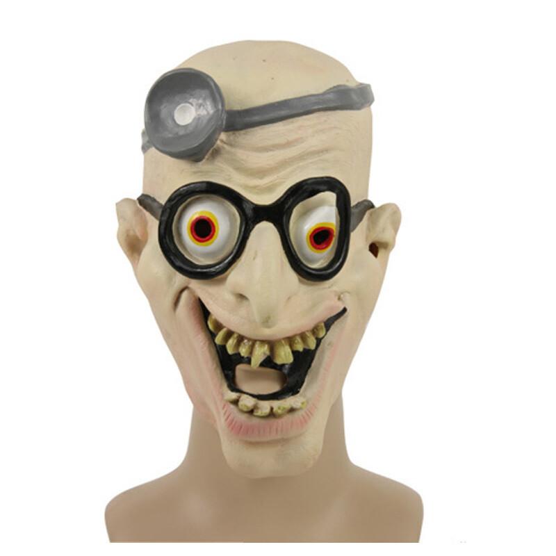 Masker dokter crazy rubber latex