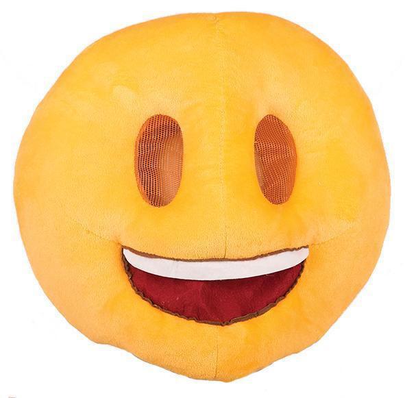 Emoji  lachend gezicht masker én kussen