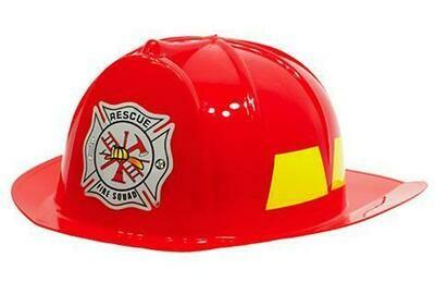 Helm brandweer rood brandweerhelm hoed