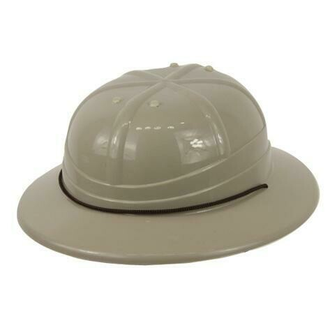 Safari hoed jungle grijs