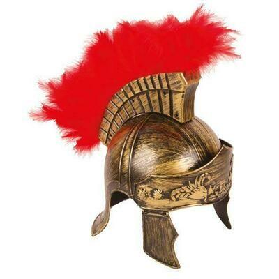 Helm Romeinse soldaat LUXE Gladiator