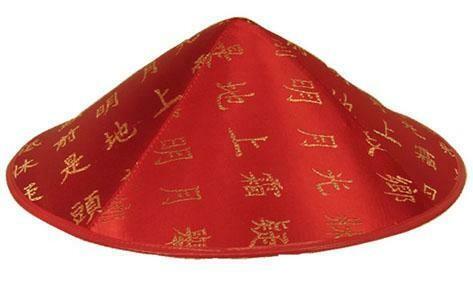 Chinees hoedje dames hoed China rood