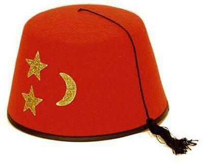 Fez hoed Turks Turkije