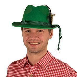 Tirolerhoed groen hoed Tirol Bierfeesten Oberbayern