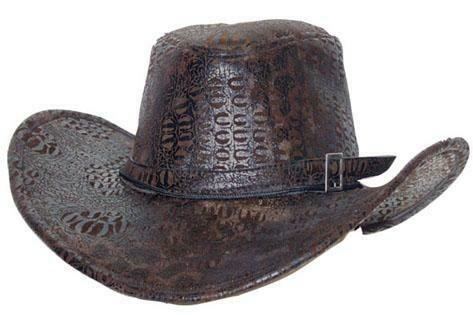Cowboy hoed bruin volwassenen