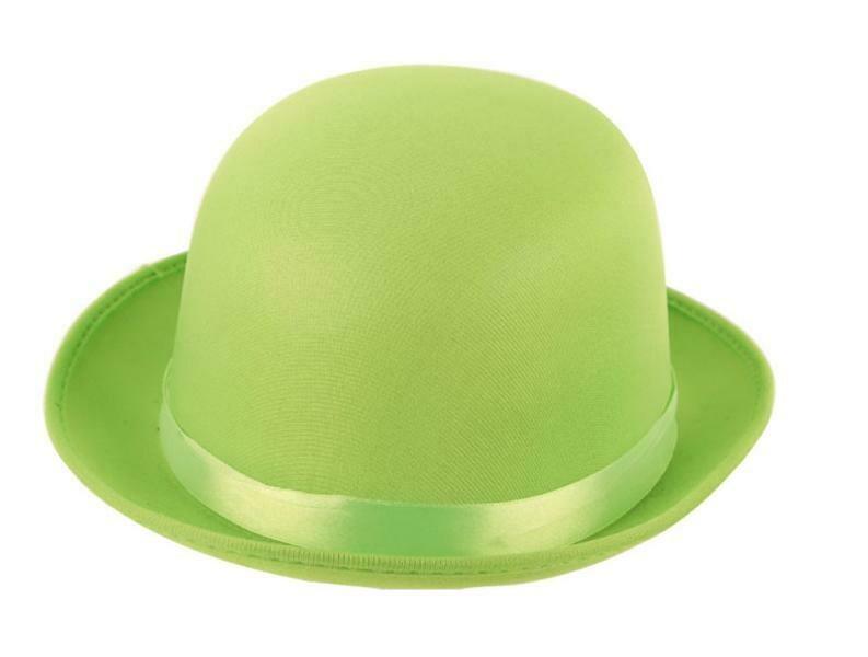 Bolhoed fluo groen neon