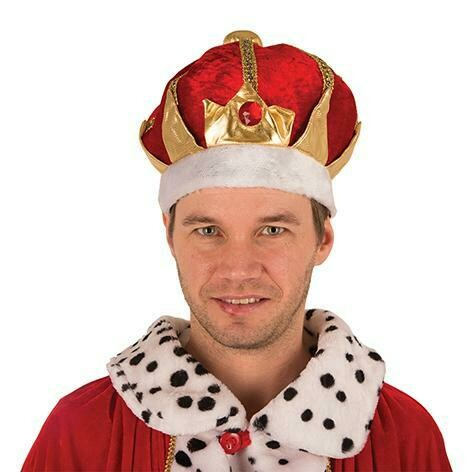 Hoed Koning Koningskroon Sprookjes