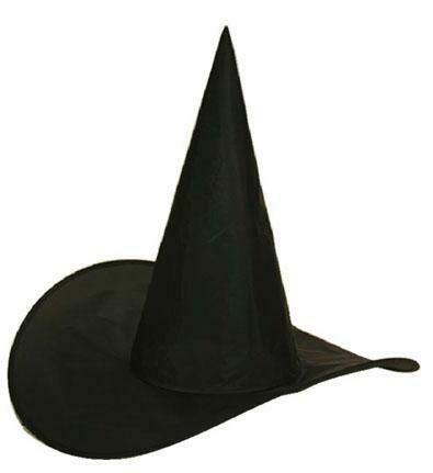 Heksenhoed kind nylon Halloween