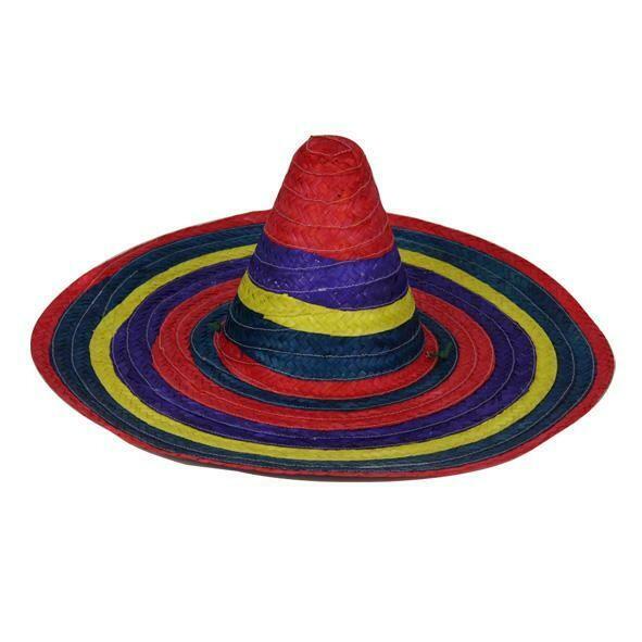Hoed Mexico Mexicaanse hoed Sombrero Mexicaan in diverse kleuren