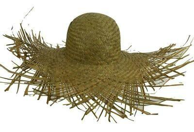 Strohoed tuinman Hawaï strooien hoed Country boer landbouwer