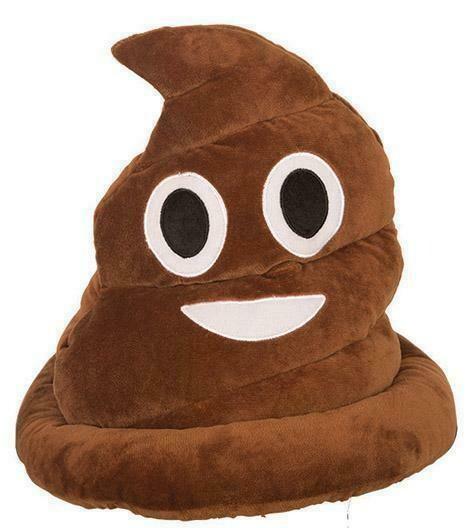 Hoed Poop Shit Emoji stront