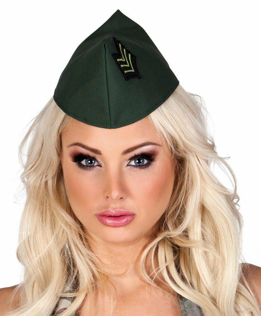 Soldatenmeisje schuitje leger legerpet dames Army