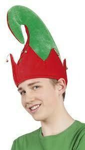 Elfenmuts muts Elf rood en groen Sprookjes