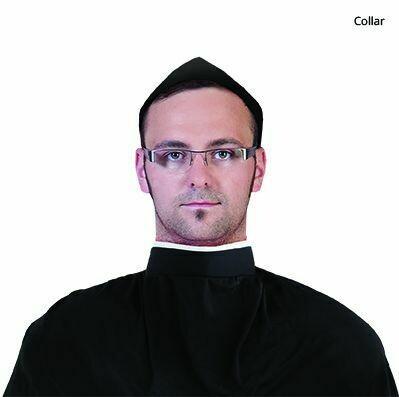 Priesterboord Witte boord pastoor