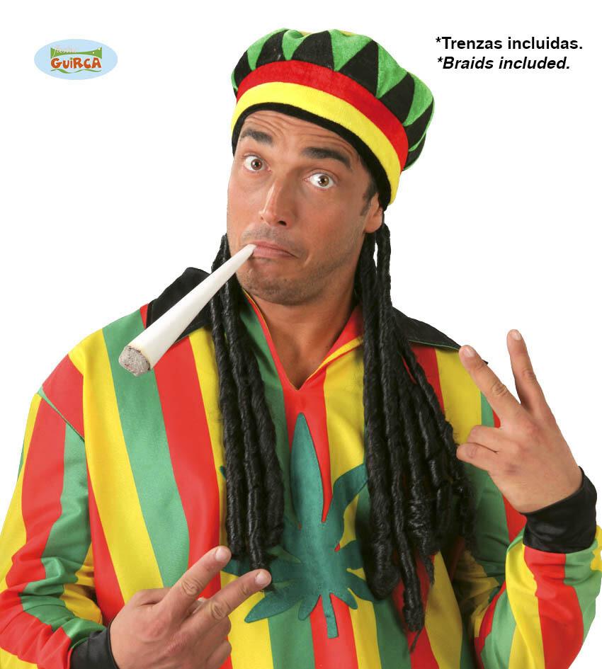 Rasta muts met haar Bob Marley Jamaica