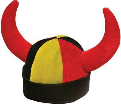 Hoed België Rode duivels met horens