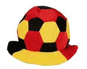 Hoed België voetbal tricolor