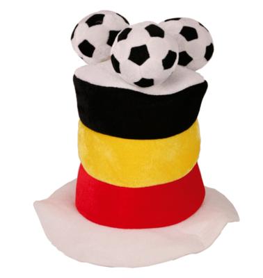 Hoed België hoog met 3 ballen er op
