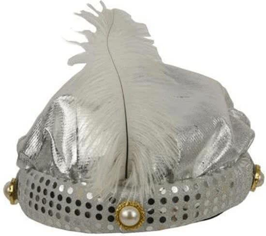 Hoed Sultan zilver Prins