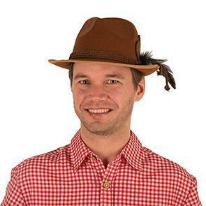 Tirolerhoed bruin hoed Tirol Bierfeesten Oberbayern