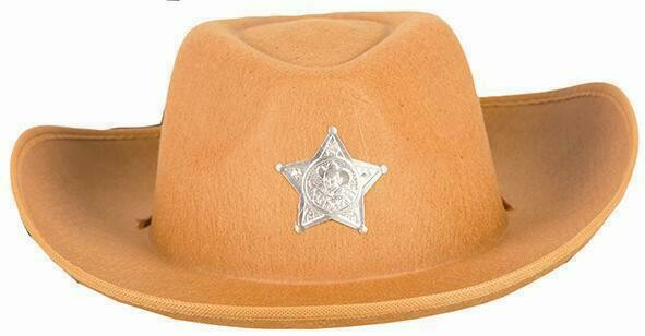 Cowboy hoed lichtbruin  Toy Story