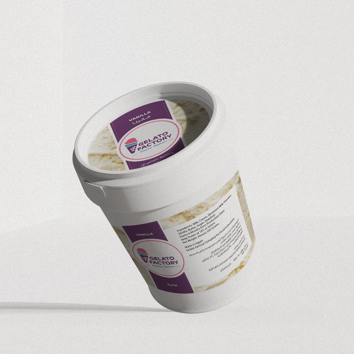 Gelato - Vanilla icecream